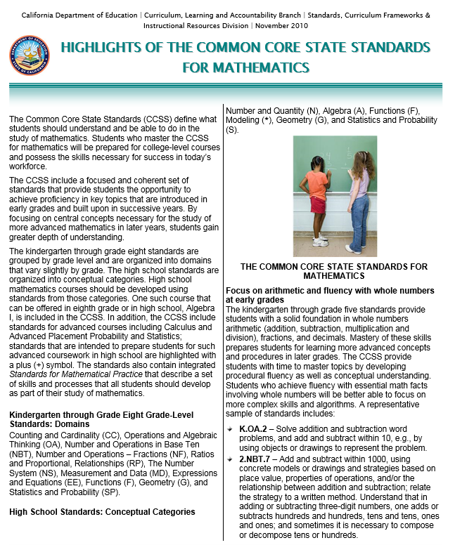 ccss | Etiwanda School District
